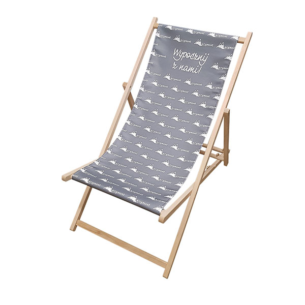 printed Deck chairs logo